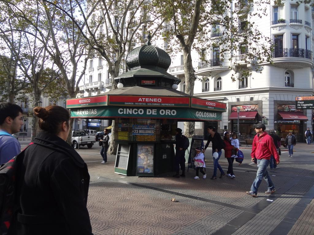 Kiosk Montevideo Uruguay