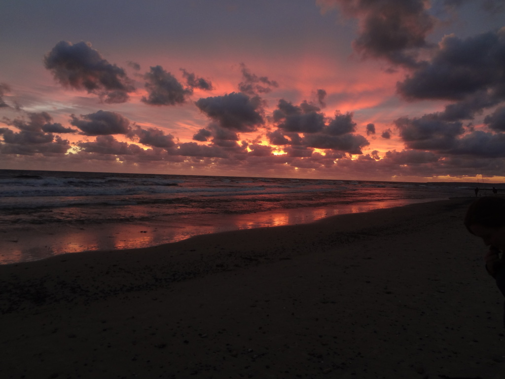Sonnenuntergang Rio de la Plata Uruguay
