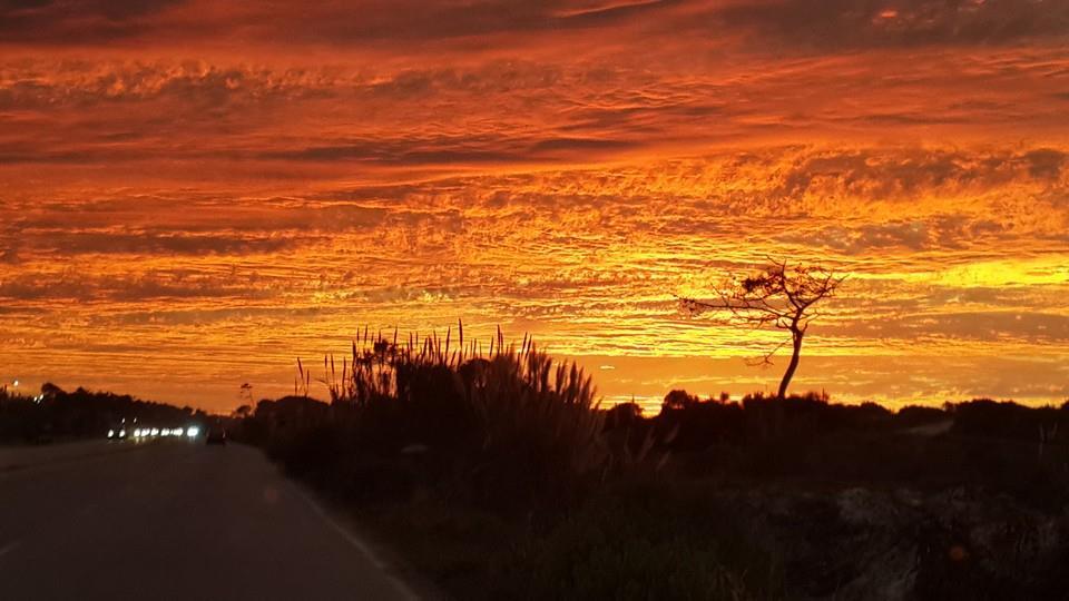 Sonnenuntergänge Uruguay