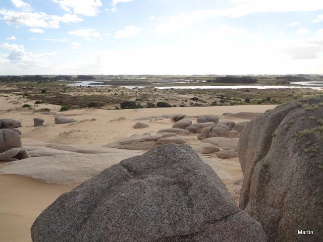 Landschaft in Rocha Uruguay bei Valizas