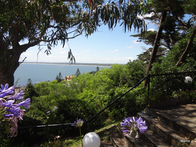 Blick auf Punta Ballena in Maldonado