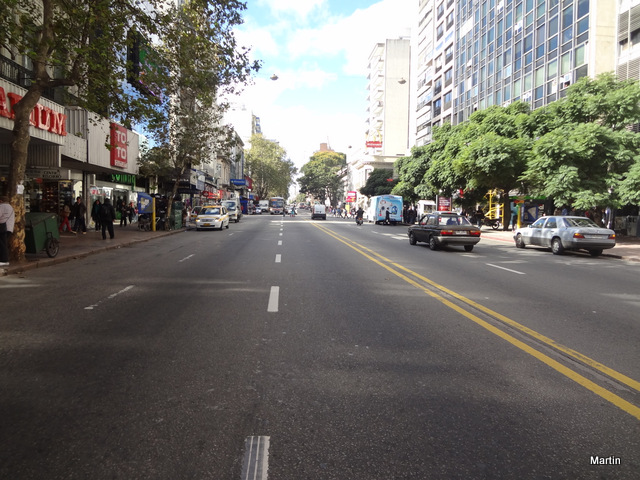 Hauptgeschäftsstrasse Montevideo