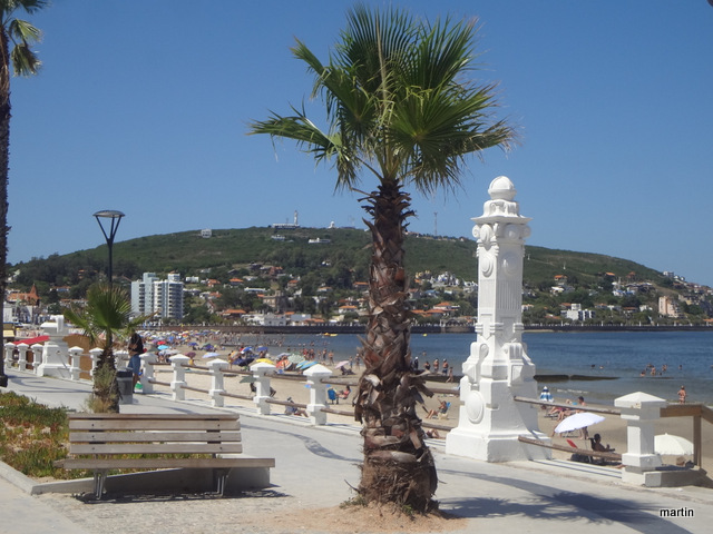 Strandpromenade Piriapolis Uruguay
