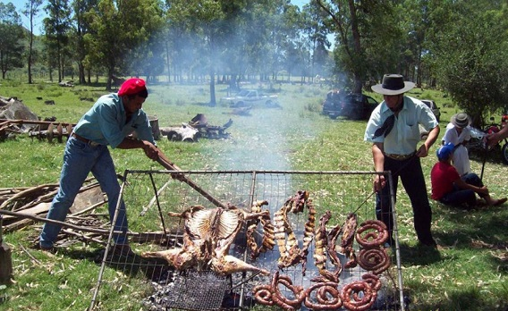 Uruguay Landesküche Asado