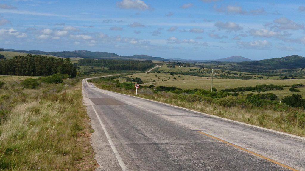 Strassenverhältnisse Uruguay
